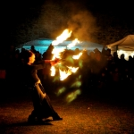 Advent Feuershow in Eggenburg